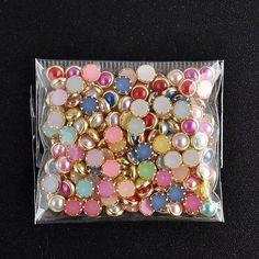 pacote 200 pçs olho de gato 4mm unhas nail art strass np10