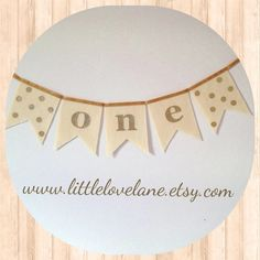 Metallic Gold Sparkly Glitter Felt Polka Dot High Chair Banner Bunting Pennant, Smash Cake Photo Prop, First Birthday, one, by LittleLoveLane Gold Fabric, Glitter Fabric, Gold Glitter, Metallic Gold, Twin Birthday, First Birthday Parties, First Birthdays, Birthday Ideas, Vintage Airplane Party