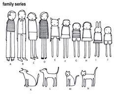 Image result for stick figure animals