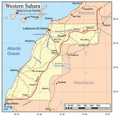 November 6 1975 CE – The Green March Sends 350,000 Moroccans into Western Sahara