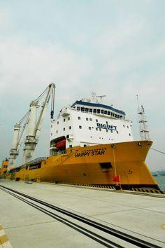 BigLift Shipping celebrates official naming of Happy Star - heavyliftpfi.com