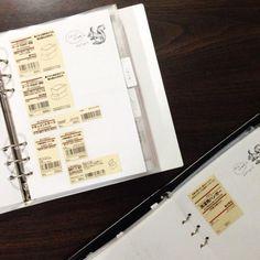 ストックを挟む、別冊あな吉手帳?   なかむら真朱の「About A Notebooker」 Bullet Journal Inserts, Household, Stationery, Notes, Organization, Life, Notebooks, Schedule, Organize
