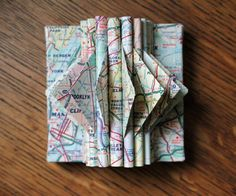 New York City Map MiniSculpture by yinsteadofi on Etsy, $17.00