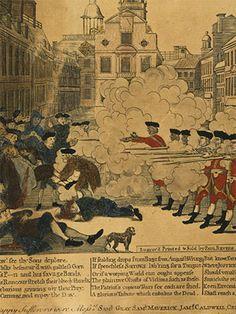 Massachusetts Historical Society: MHS Gallery - American Revolution    Good Resource for Social Studies