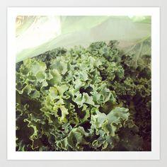 Kale Art Print - $20.00