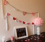 √ 20 Cute DIY Valentine Decorations for Your Home [Images] Valentine Tree, Little Valentine, Valentines Diy, Giant Flowers, Faux Flowers, Rustic Candle Holders, Paper Wall Art, Hanging Hearts, Faux Plants