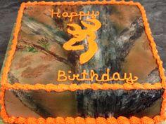 Another birthday camo cake.