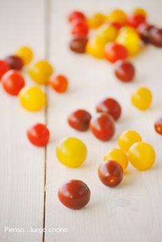 Pienso...luego cocino: tomates cherry