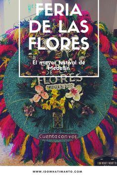 La Feria de las Flores, el mayor festival de Medellín lleno de tradición, olor y color. Viajar por Colombia. Pasión por los viajes en América del Sur