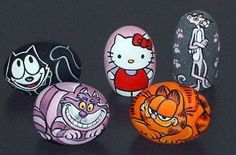 Hello Kitty/Garfield/Pink Panther