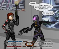 Mass Effect: Kneecaps? by Hurdy42