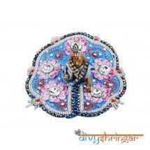 And  Velvet  Heavy Dress Ladoo Gopal, Heavy Dresses, Pink Velvet, Winter Collection, Designer Dresses, Pattern, Blue, Beautiful, Designer Gowns