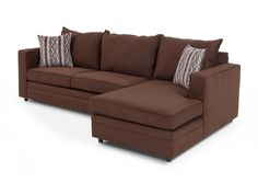 Neptune 2 Piece Left Arm Facing Sectional   Sectionals   Living Room    Bobu0027s Discount Furniture