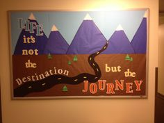 Bulletin Board Idea Great for traveling/geography/United states theme unit