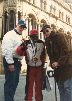 MC Serch, Flavor Flav & Pete Nice