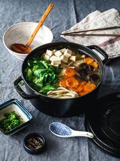 Hotpot auf japanisch | veganes Hotpot | vegnane Suppe | Entdeckt von Vegalife Rocks: www.vegaliferocks.de ✨ I Fleischlos glücklich, fit & Gesund✨ I Follow me for more vegan inspiration @vegaliferocks