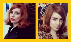 powder doom — HOW TO: SIXTIES HAIR TUTORIAL by Vanessa This...