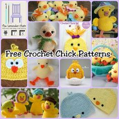 Easter is right around the corner and the only thing cuter than little bunny rabbits are these little chicks. ThisEgg Cozy Chick Familyis so cute. For more egg cozies, check out these Free Crochet Egg Cozy Patterns.  ThisBaby Chickis fresh out of its egg ThisChick Hatis so adorable! I …