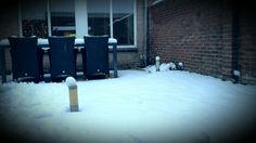 2014-12-27 Blij van.... eerste sneeuw deze winter!