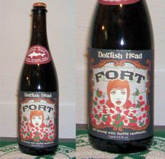 Dogfish Head - Fort Raspberry Ale