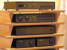 Naim Audio setup. Olive era.