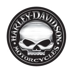 Willie G. for Harley Davidson Skull Logo