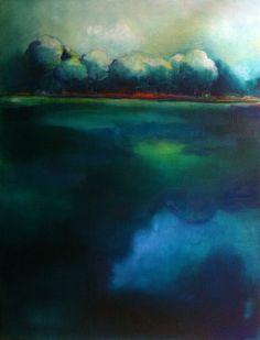 Huile sur toile 130/97cm - 2013 -  Gabriella Moussette