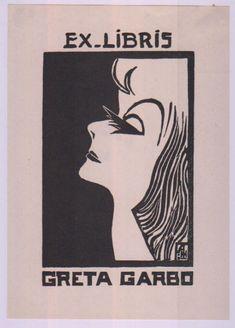 Greta Garbo | 35 Bookplates Belonging To FamousPeople