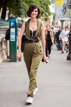 silky. #ManonLeloup #offduty in Paris.