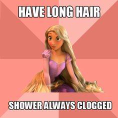 long hair problems | Tumblr