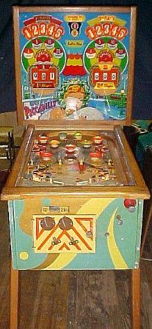 "1956 Piccadilly ""Williams""Pinball Machine"