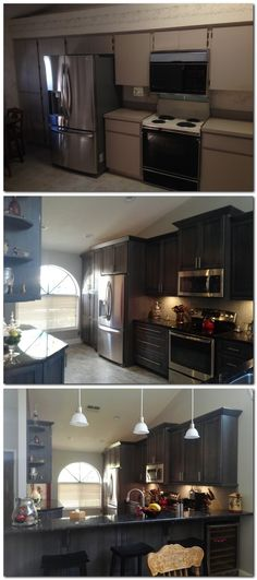 Thinking of remodeling or renovating a room in your house.  Take a look at these before and after pictures. Click on pin for more looks.