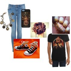 Catching Fire Outfit<3