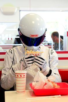 The Stig goes to In n Out