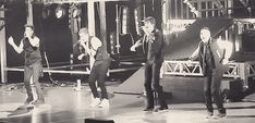 Eran únicos en el escenario