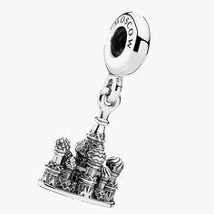 925 prata de charme jóias Fit pulseira Pandora Authentic catedral de são basílio(China (