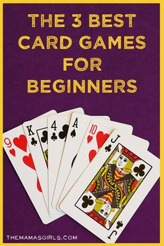 The 3 Best Card Games for Beginners ~ scum, BS, Five Crowns (king crowns) ~ full rules listed