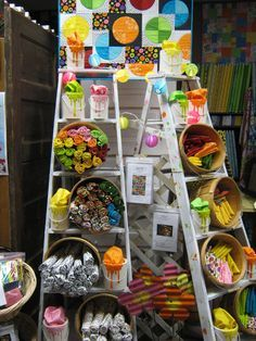 ladder display ideas - Google Search