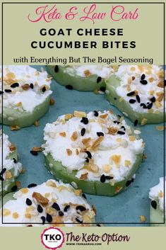 Looking for a healthy keto snack? Make these keto Goat Cheese Cucumber Bites for your next snack! A healthy addition to a keto diet! Low Carb Appetizers, Appetizer Recipes, Snack Recipes, Goat Cheese Appetizers, Cheese Snacks, Cookbook Recipes, Sin Gluten, Gluten Free, Fat Bombs