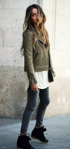 isabel marant, perfect for street style Looks Street Style, Looks Style, Style Me, Tumblr Outfits, Mode Outfits, Casual Outfits, Fashion Outfits, Look Fashion, Womens Fashion