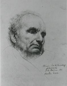 Drawing by Pietro Annigoni.