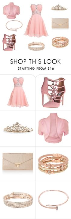 """""""prom"""" by secret-marie ❤ liked on Polyvore featuring Steve Madden, BillyTheTree, WearAll, Accessorize, Henri Bendel, Anne Klein and Cartier"""