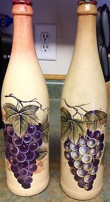 1000 Images About Wine Bottle Amp Grapes For Kitchen On