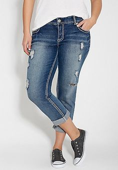 Plus Size Capris for Women | Silver Jeans Vigoss &amp maurices