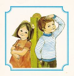 vintage kids book The Magic of Growing Up by OnceUponABookshop, $6.50