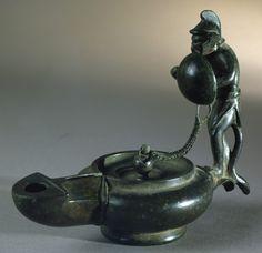 Oil Lamp. Bronze. House of Marcus Fabius Rufus, Pompeii