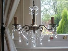 small chandelier pinterest | small bedroom chandelier