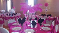 Decorate by design event planner Casper Wyoming 1920 Hollywood themed wedding