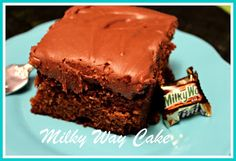 Sweet Tea and Cornbread: Milky Way Cake!