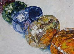 """Daily+Paintworks+-+""""Foiled""""+-+Original+Fine+Art+for+Sale+-+©+Jeanette+Jobson"""